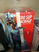 Boxed inflatable paddle board