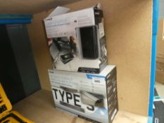Wireless back up camera and a jump starter