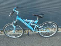 4023 Blue Amacco child's cycle