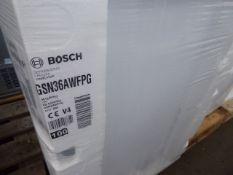 GSN36AWFPGB Bosch Free-standing upright freezer