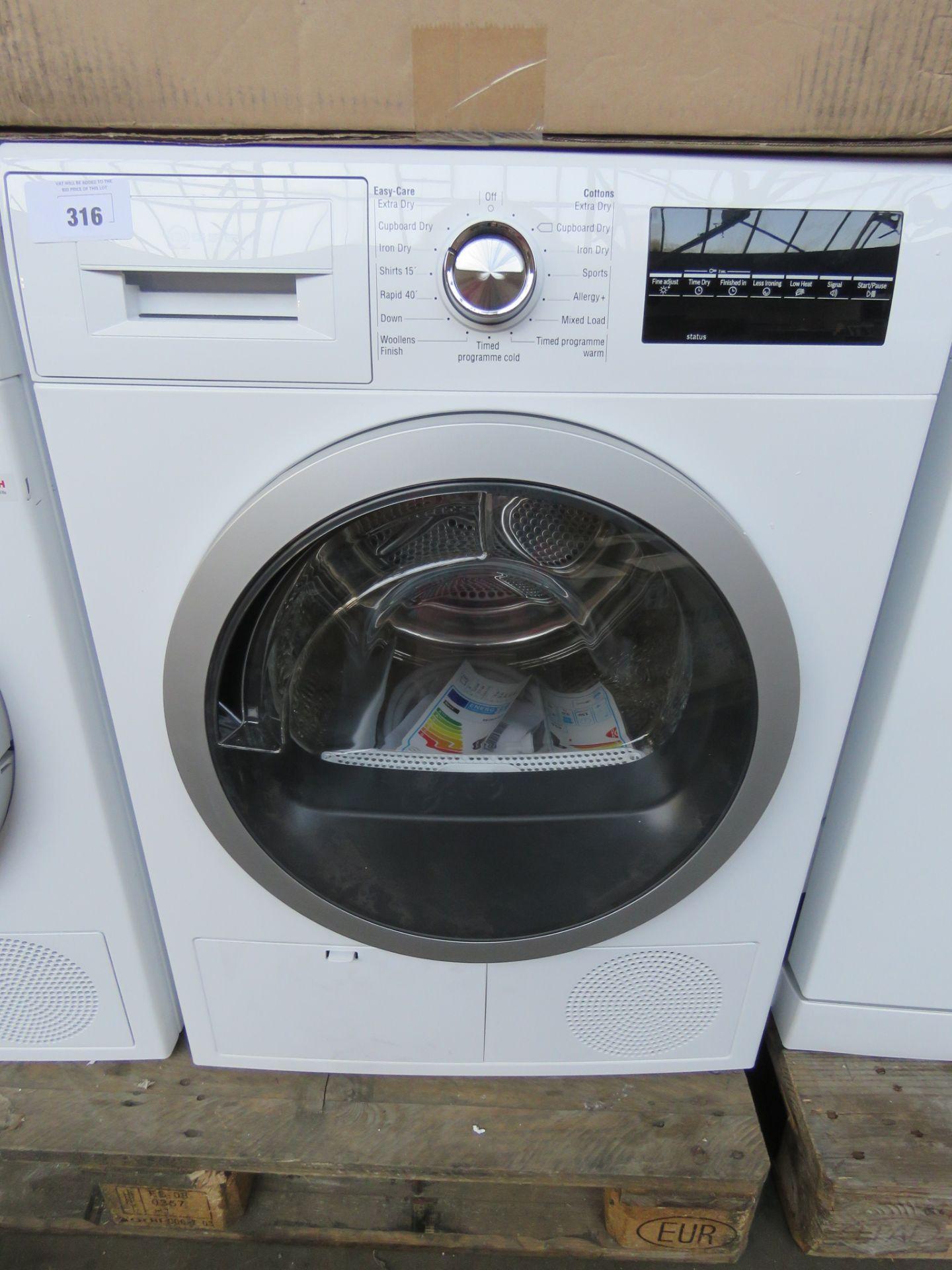 R8580X3GB-B Neff Tumble dryer