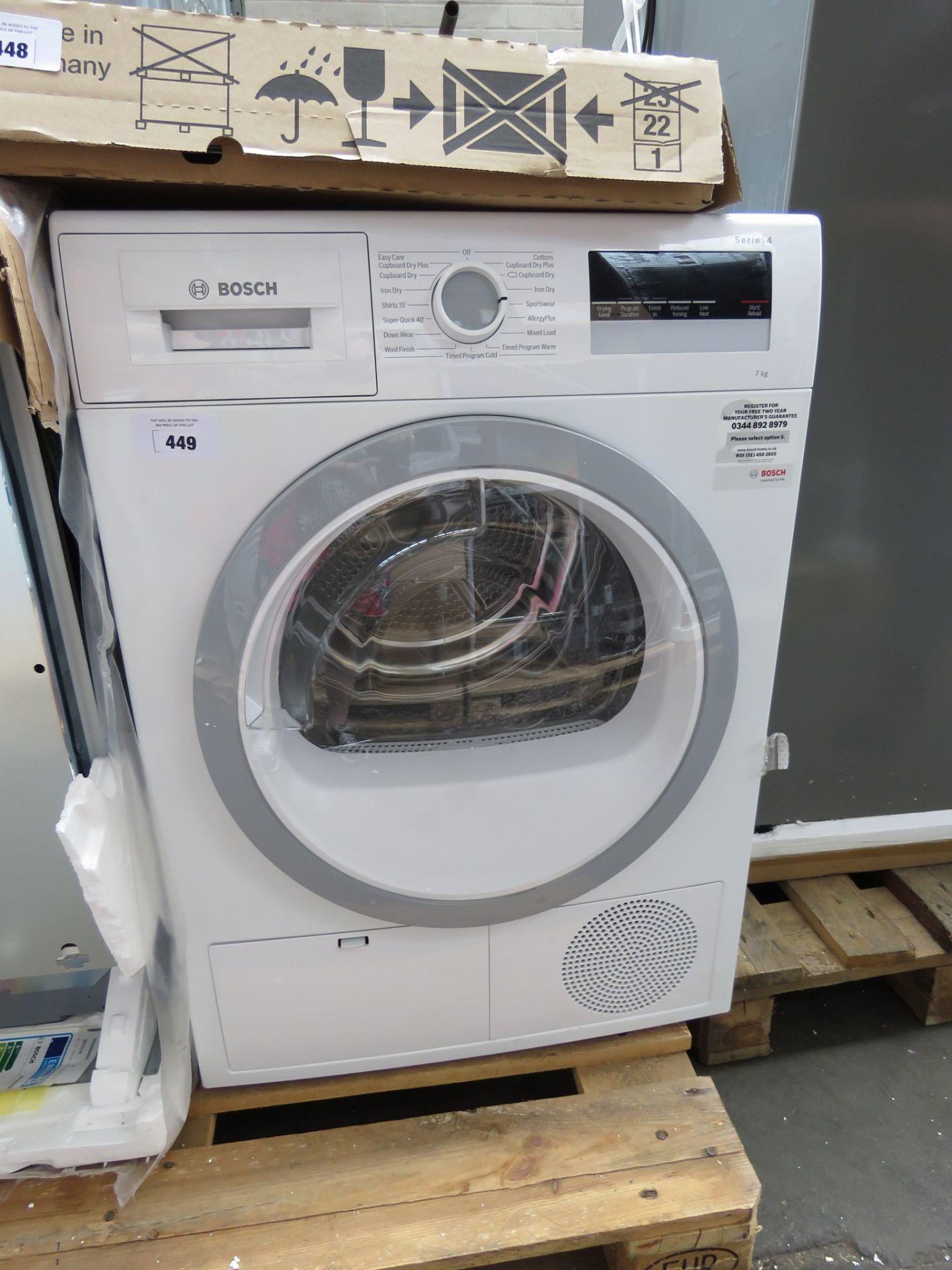 WTN85201GBB Bosch Tumble dryer