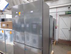 KGV39VLEAGB Bosch Free-standing fridge-freezer