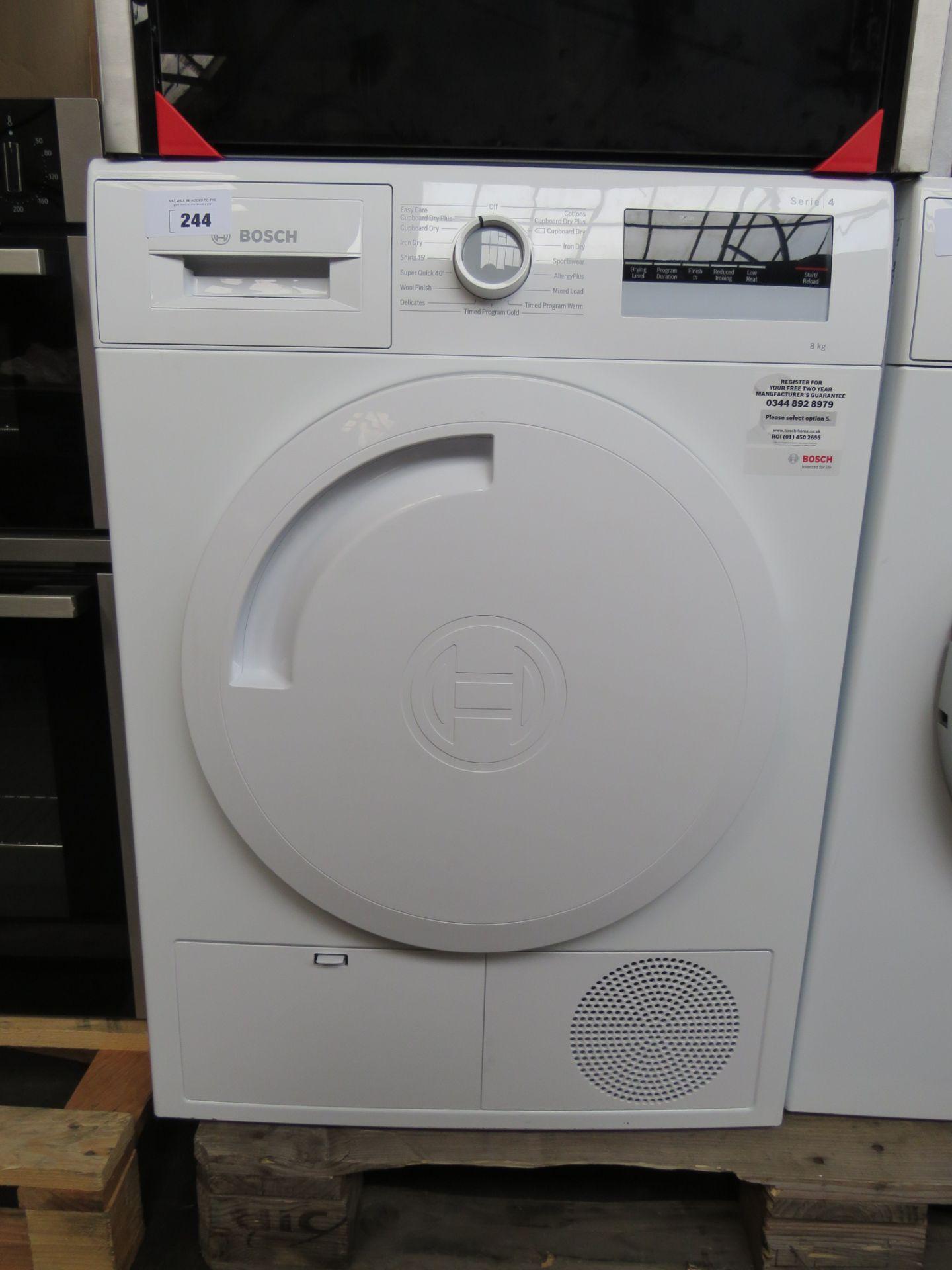 WTN83201GBB Bosch Tumble dryer