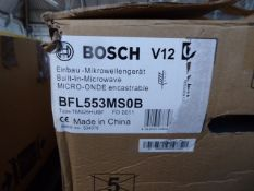 BFL553MS0BB Bosch Built-in microwave oven (smashed glass - refer to pictures)