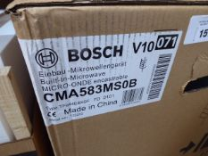 CMA583MS0BB Bosch Built-in Microwave with hot air function