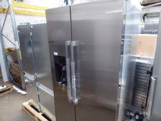 KAD93VBFPGB Bosch Side-by-side fridge-freezer