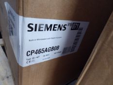 CP465AGB0BB Siemens Built-in Microwave with steam function IQ500