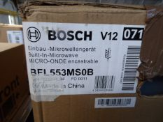 BFL553MS0BB Bosch Built-in microwave oven