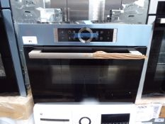 CMG633BS1BB Bosch Compact oven with microwave