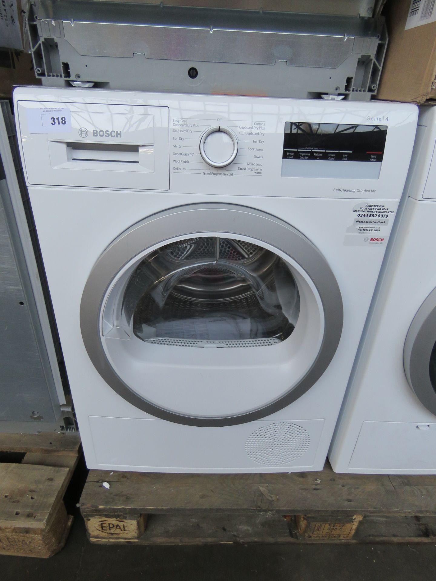 WTW85231GBB Bosch Tumble dryer