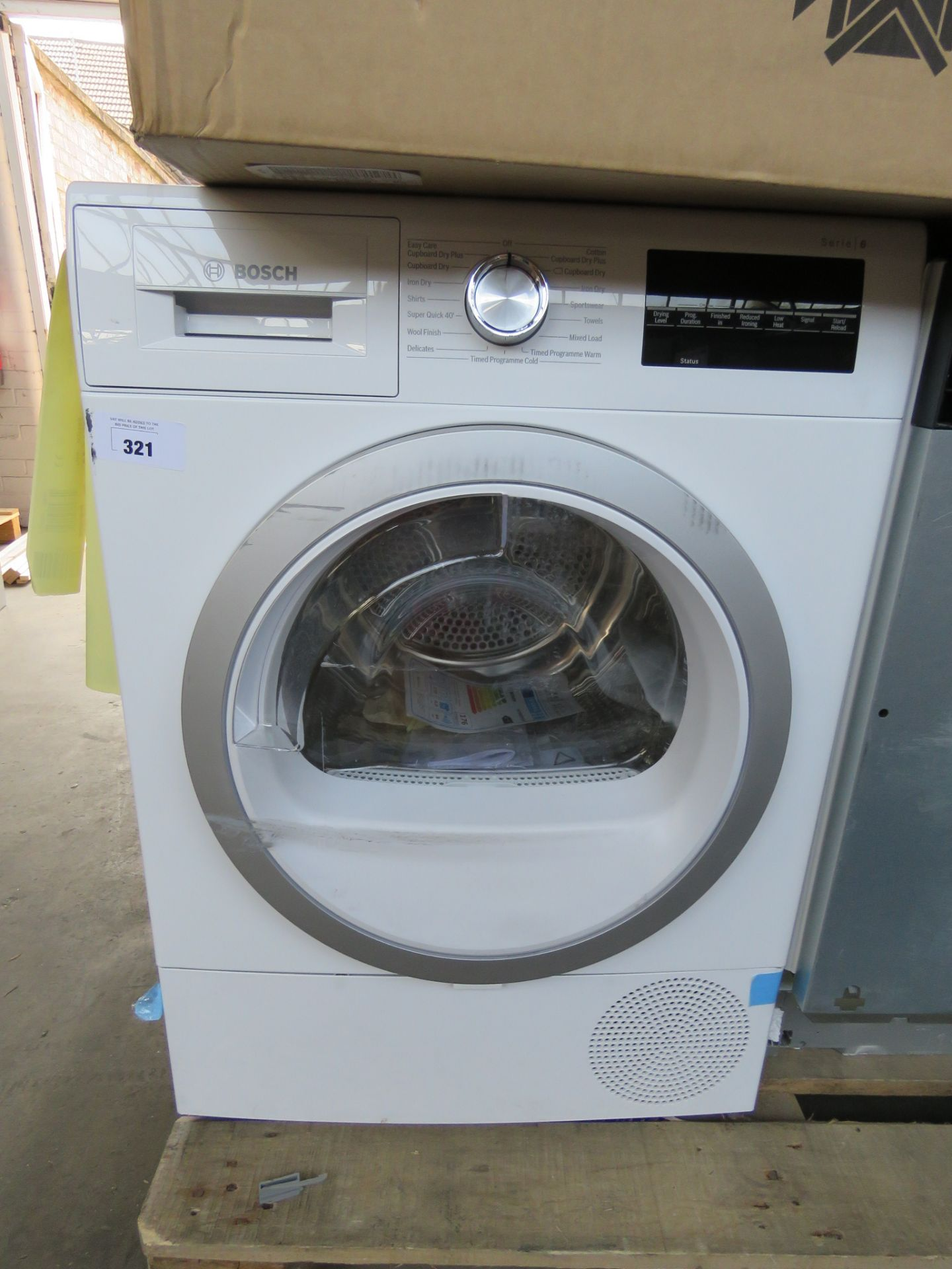 WTR88T81GBB Bosch Tumble dryer