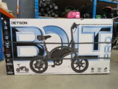 Jetson bolt pro electric scooter with charger boxed