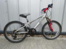Zerog BMX bike in silver