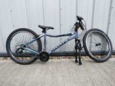 Rambler mountain bike in gray, parts missing