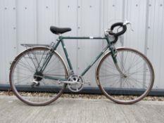 Dawes racing bike in green