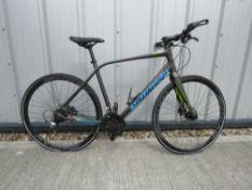 Specialised Syras light frame mountain bike in grey