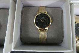 2063 Luke Henry wrist watch with box
