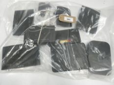 Bag containing quantity of various hubs/routers