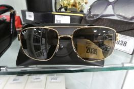Pair of Rayban sunglasses with carry case, RB3663