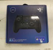 Razer Raiju Tournament Edition PS4 controller with box