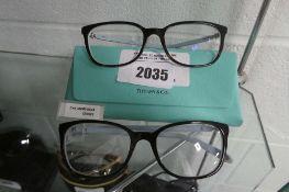 2 sets of Tiffant reading glasses frames