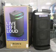 Sony XP700 wireless battery powered bluetooth speaker with box