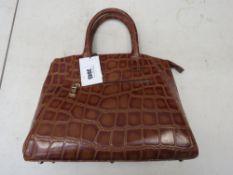Ladies Osprey London brown handbag