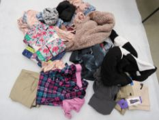 Large bag of mixed ladies clothing incl. jeans, shirts, etc.