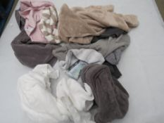 Large bag of mixed hand towels