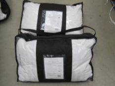 2 The White Co. London super soft ultra soft duvet and pillows