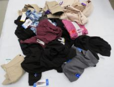 Large bag containing mixed womens clothing incl. trousers, tops, etc.