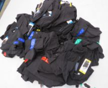Large bag of ladies Jachs NY short sleeve shirts in black