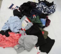 Large bag of mixed ladies clothing incl. Champion, etc.