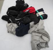 Large bag of sports clothing incl. Champion, Adidas, SuperDry, etc.
