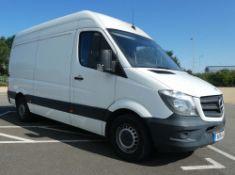 KR14 LCC, Mercedes-Benz Panel Van in white, first registered 19.05.2014, two keys, 2143cc, diesel, 3