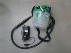 Small Cuprinol power sprayer with battery and charger