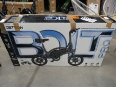 Boxed Jetson Bolt pro electric bike with charger