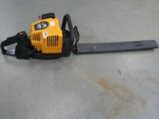 Mcculloch petrol powered hedge cutter