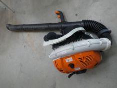 Stihl BR550 petrol powered backpack blow vac
