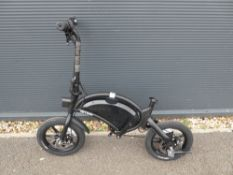 Jetson Bolt Pro electric bike, no charger pedals or seat