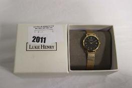 2047 - Luke Henry wristwatch