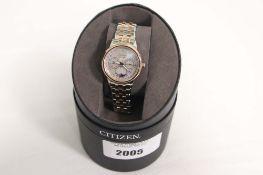 Citizen gents wristwatch