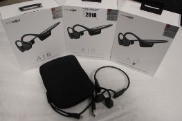 4 Aftershokz Air wireless bone conduction headphones