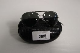 Pair of Carrera sunglasses with case