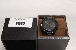 Michael Kors gents wristwatch in black