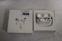 Pair of Apple AirPods Pro