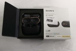 Sony wireless noise cancelling earbuds