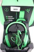 Pair of Kraken multi platform wired gaming headphones