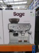 (57) Sage Barista Express coffee machine